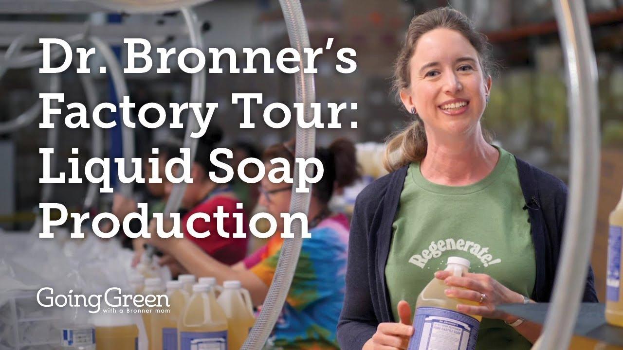 Download Dr. Bronner's Factory Tour: Liquid Soap Production