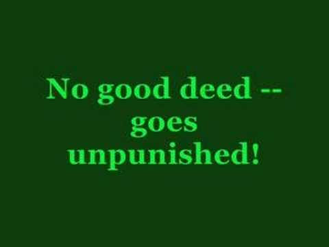 Wicked Karaoke - No Good Deed