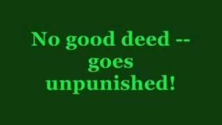 Wicked Karaoke - No Good Deed