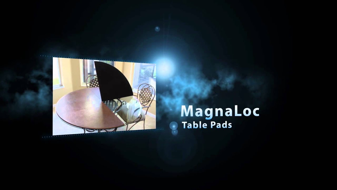 MagnaLoc Table Pads YouTube - Custom table pads magnaloc