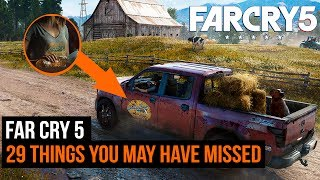 Far Cry 5 Footage - 29 hidden details you missed thumbnail