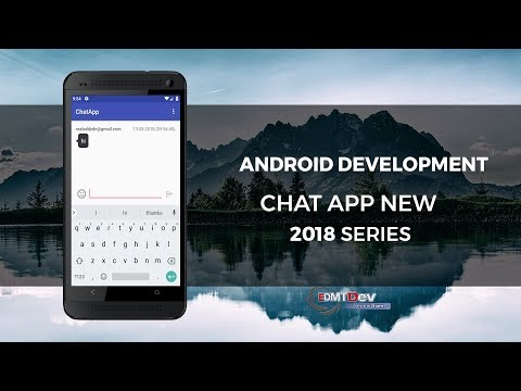 Android Studio Tutorial Chat app part 4 - Update to latest libraries