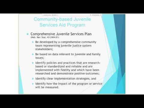 Community-based Juvenile Services Aid Program 2016 Grant Management Training