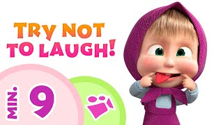TaDaBoom English 🤣🤡 TRY NOT TO LAUGH! 🤡🤣 Songs for kids 🎵 Masha and the Bear