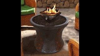 California Outdoor Concepts 8511 Br Pg7 Sea Rattan Bistro Table With Black Capri Square Brown Gold