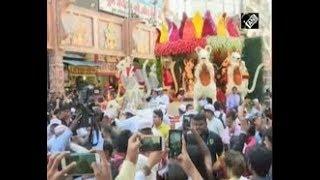 India News (13 Sep, 2018) - 10-day Hindu Elephant God festival begins in India