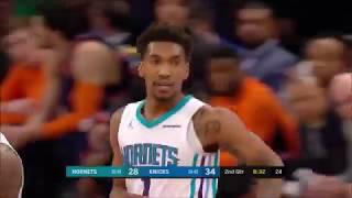 Malik Monk Vs. Knicks: 12 Pts, 4-16 FG, 0 Ast