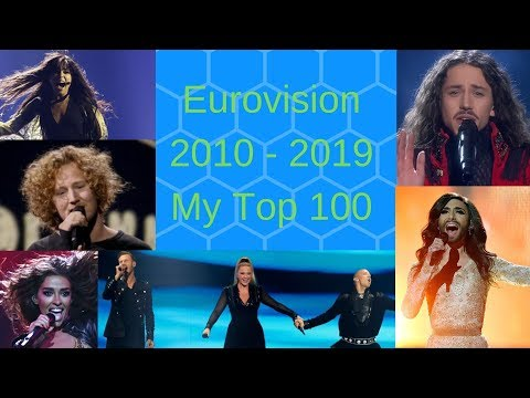 Eurovision 2010   2019 My Top 100