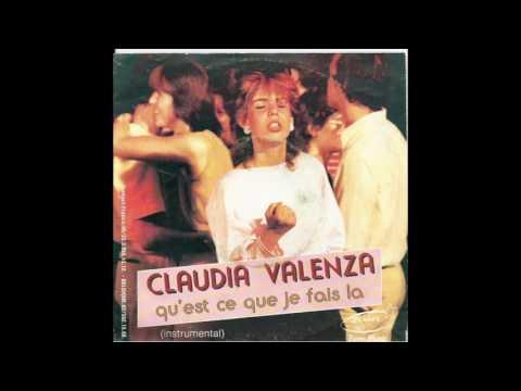 Claudia Valenza - Qu'est ce que je fais la (funk disco, Belgium 1985)