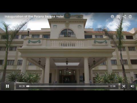 Inauguration of the Polana Serena Hotel, Maputo, Mozambique