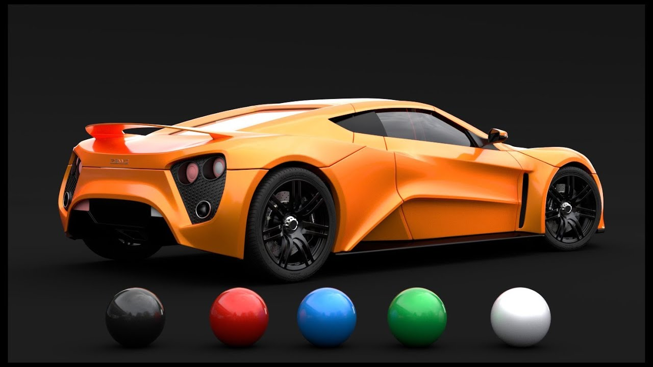 Blender D Car Paint