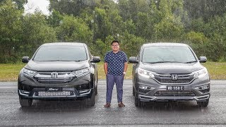 FIRST LOOK: 2017 Honda CR-V 1.5 Turbo Vs Old 2.4 – Acceleration, Braking And Handling