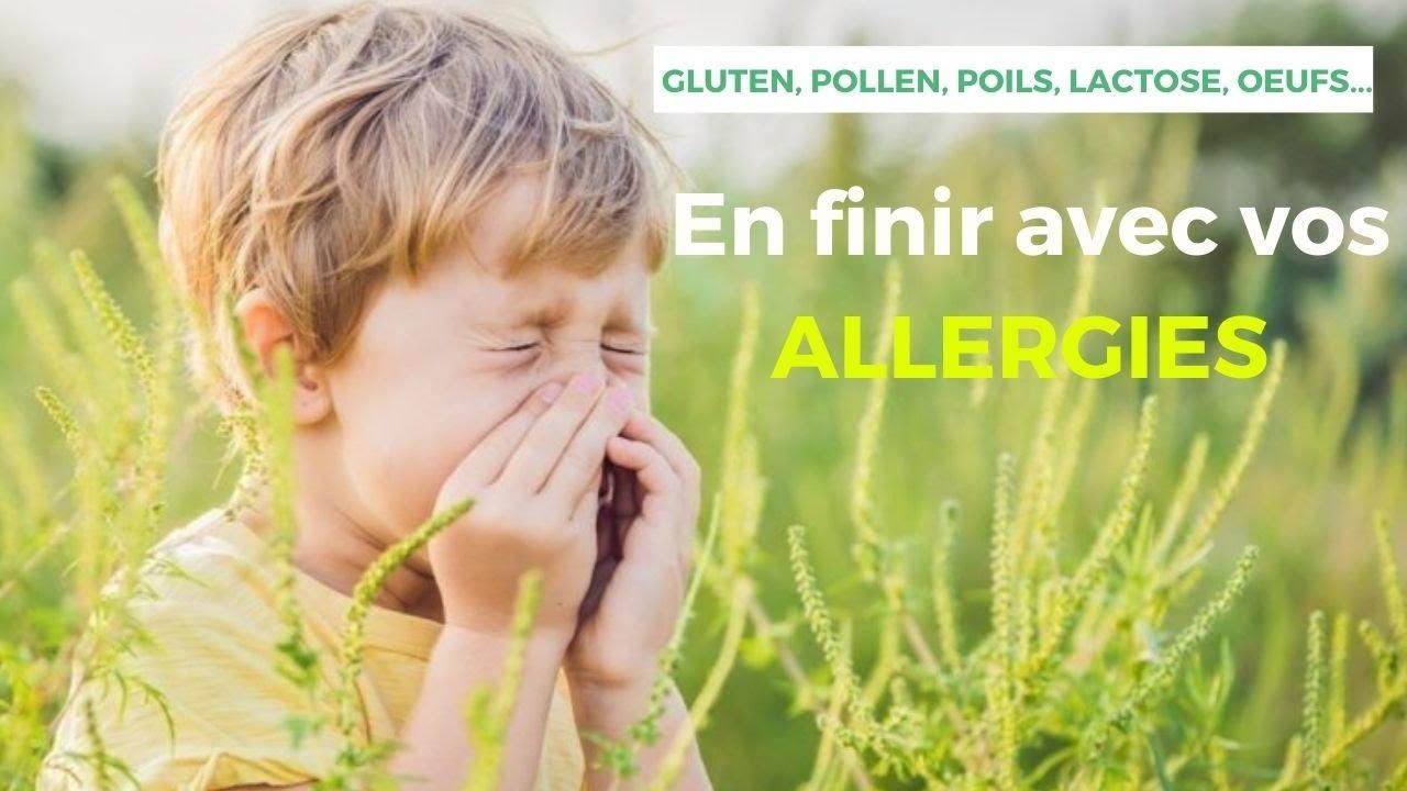 Vous souffrez d'allergies ? Trouvez des SOLUTIONS pour vous en débarrasser
