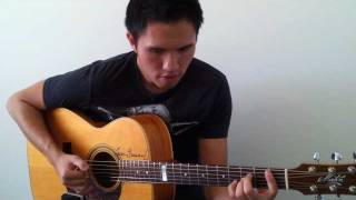 Ne-Yo - Because Of You ( Solo Guitar ) - John Le