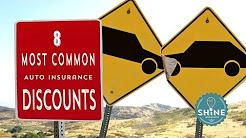 8 Common Auto Insurance Discounts