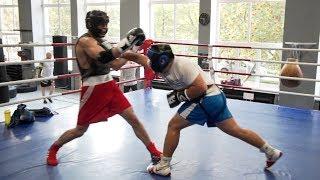 18-летний МС по боксу против МСМК / 120 кг против 98 кг!