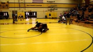 Darian Holmes Henry Ford College round 1 match