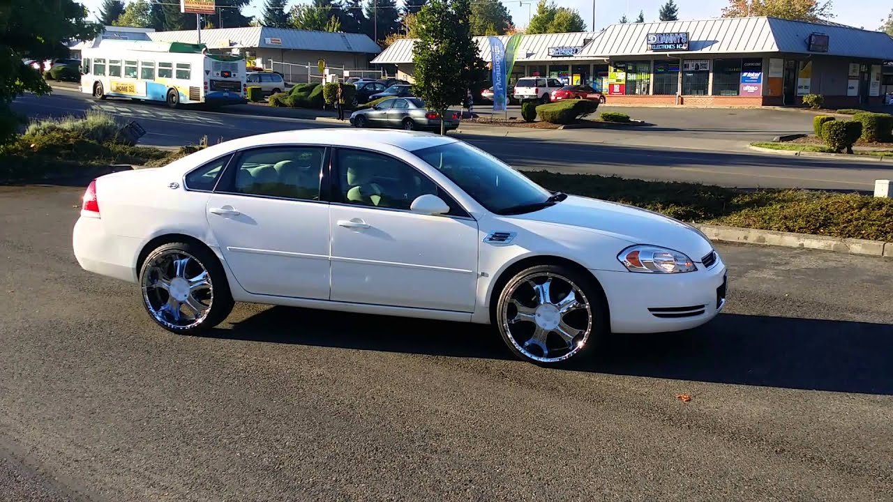 08 Chevy Lt Impala On 22s Youtube