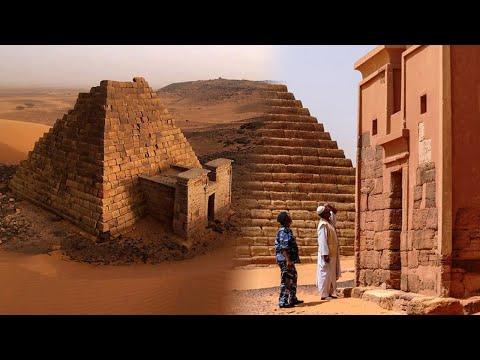 ¿Was Machen Über 200 PYRAMIDEN In Der Afrikanischen WÜSTE?