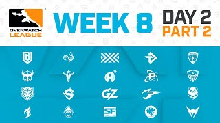 Overwatch League 2020 Season | Week 8 Day 2 | Part 2