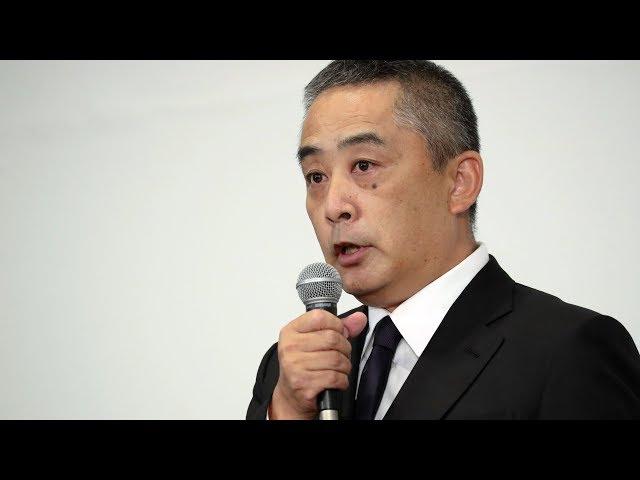 吉本興業社長、会見5時間超 質問と回答がかみあわず