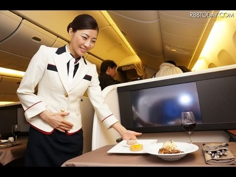 "Japan Airlines new First Class / ""NEW JAL SUITE"" : Tokyo to New York"