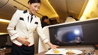 """Japan Airlines new First Class / """"NEW JAL SUITE"""" : Tokyo to New York"""