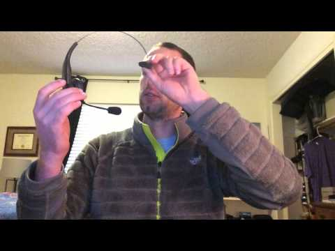 Blueparrot b350-XT Bluetooth headset unboxing and early impressions