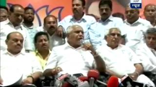 Yeddyurappa set to quit BJP today, leave party in crisis