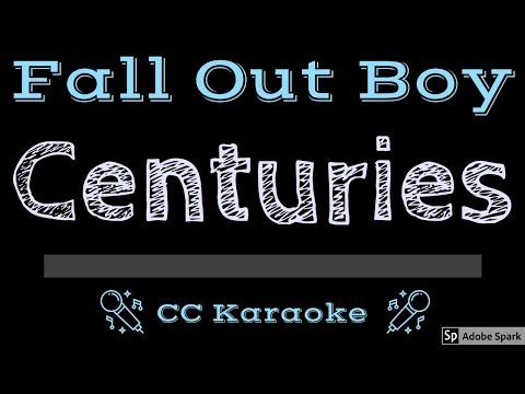 Fall Out Boy   Centuries CC Karaoke Instrumental Lyrics