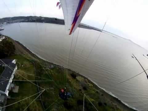 Paragliding in Vallejo, CA, call 707-YOU-SOAR