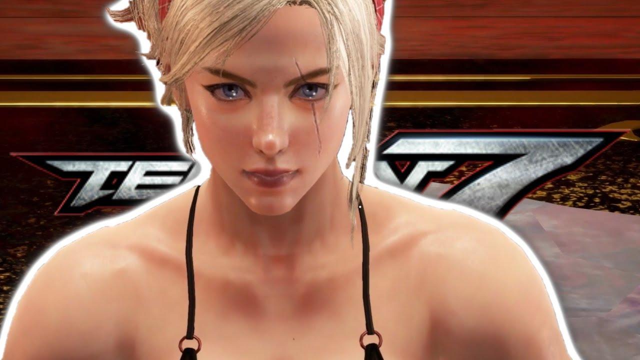 Tekken7 Lidia Sobieska Mod Arcade Playthrough | Tekken 7 Season 4 Mod Arcade Playthrough