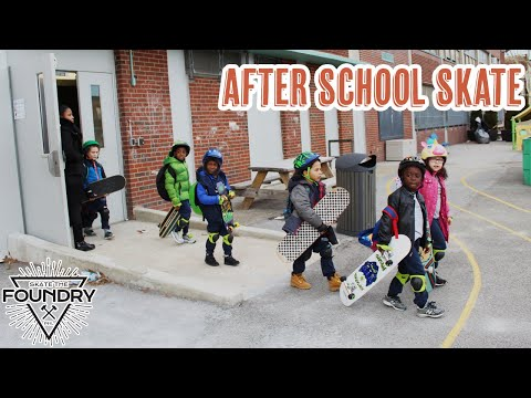 After School Skateboarding at Inquiry Charter School