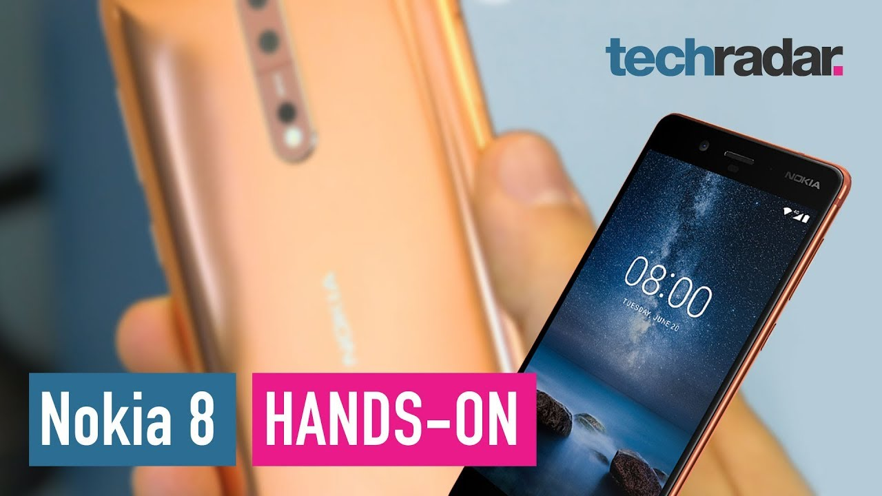 Image result for Nokia 8 hands-on review