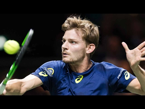 Hot Shot Goffin Makes It Look Easy In Rotterdam