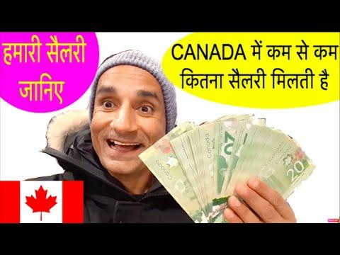 Minimum Salary In Canada | Indian In Canada