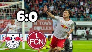 RB LEIPZIG - 1.FC NÜRNBERG   6 - 0   HIGHLIGHTS