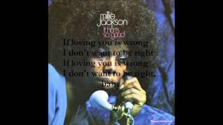 Millie Jackson - If Loving You Is Wrong (Karaoke with Lyrics)