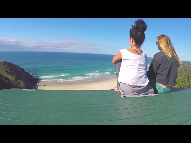 Paseo hasta el faro de Byron Bay