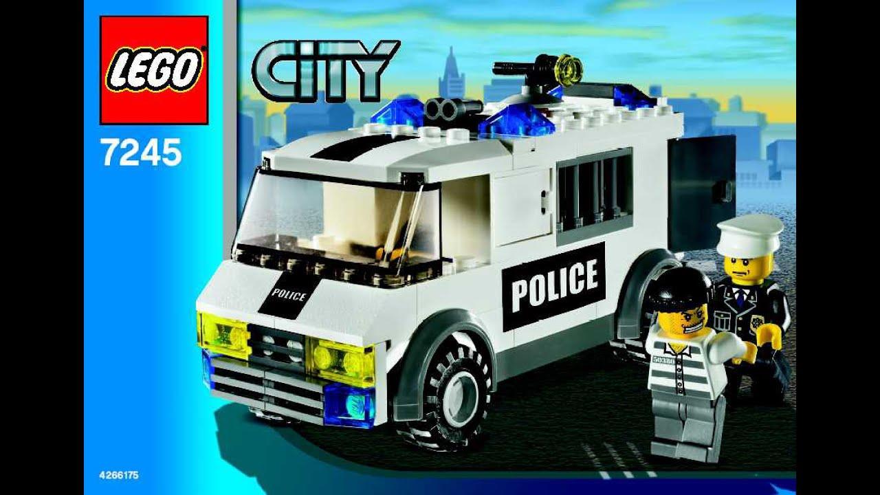 LEGO 7245 Prisoner Transport City Police (Instruction