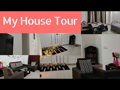 My Home tour 2019|House Tour|Indian House 🏠 Decor|Rented flat Organization Ideas|2Bhk Rented House