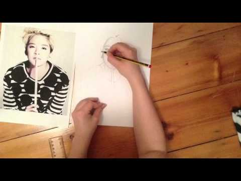 Amber Liu speed drawing