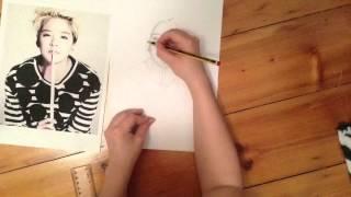 Amber Liu speed drawing