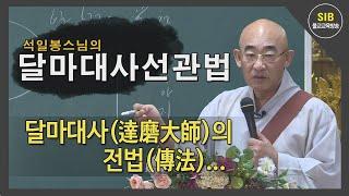 달마선관법 제11회 - 달마대사(達磨大師)의 전법(傳法…