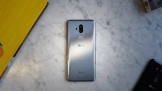 LG G7 ThinQ Hands-on Review! Can it Beat the Galaxy S9?