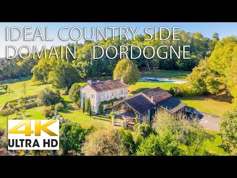 Ideal domain for sale with 2 gites in Dordogne near Brantome ref : 68773NGA24