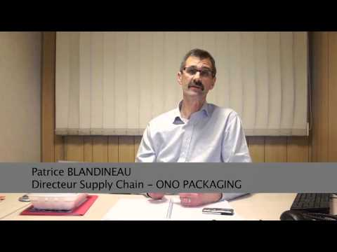 Patrice Blandineau, directeur supply chain d'Ono Packaging