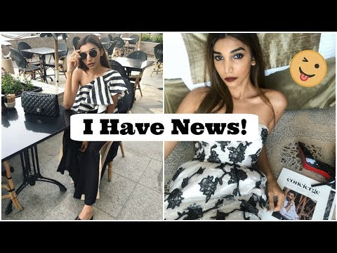 VLOG 6: I HAVE NEWS! | HELLO FROM ABU DHABI