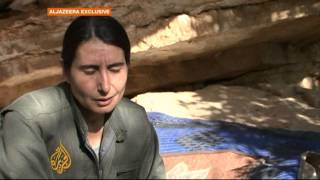 pkk fighters set up camp in northern iraq