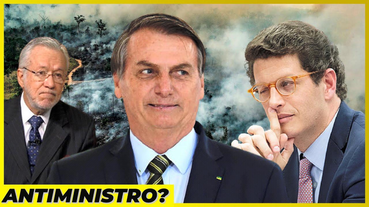 Ricardo Salles, Bolsonaro e o passador de panos...